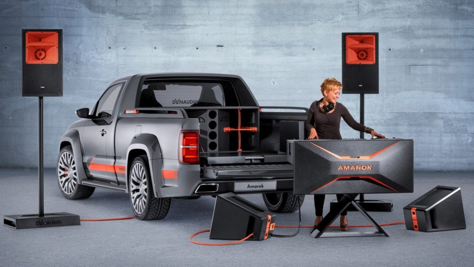 VW To Debut 5kW Amarok At Worthersee