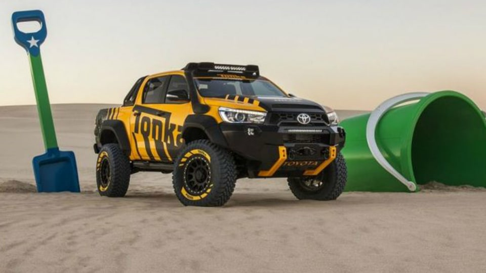 Toyota HiLux Tonka Concept Coming To A 4WD Show Near You