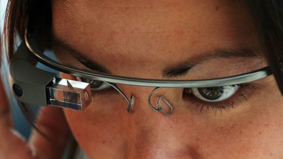 A Californian driver was fined for wearing Google Glass. Justin Sullivan/Getty Images/AFP.