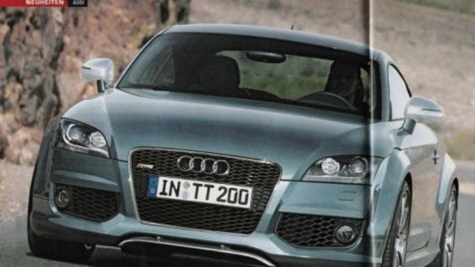 Audi TT-RS Details Leaked