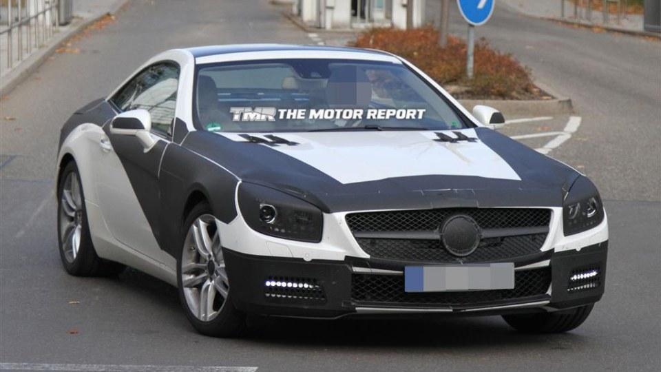 2012 Mercedes-Benz SL Spied