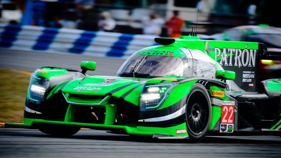 ESM Nissan won the Sebring 12 Hour.