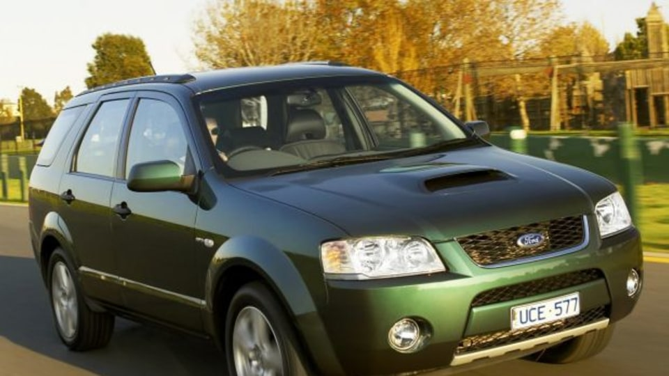 Picture supplied for publicity purposes. Picture shows : the Ford SY Territory Ghia Turbo 21.06.2006