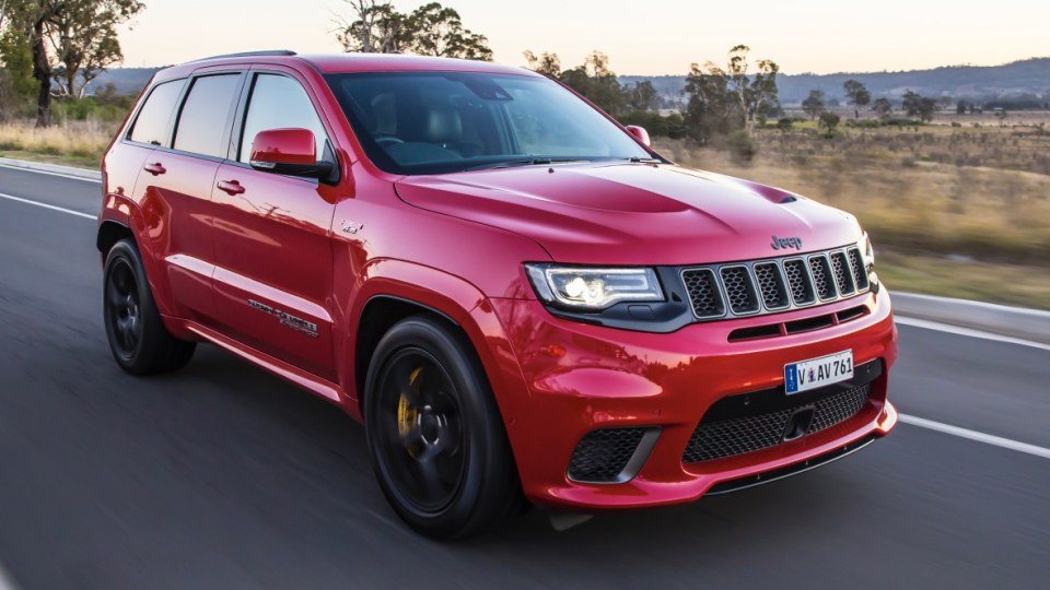 500kW club: Jeep Grand Cherokee Trackhawk