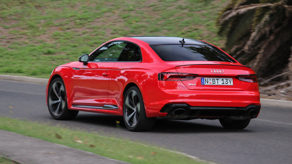 Audi's RS5 blends luxury and performance.