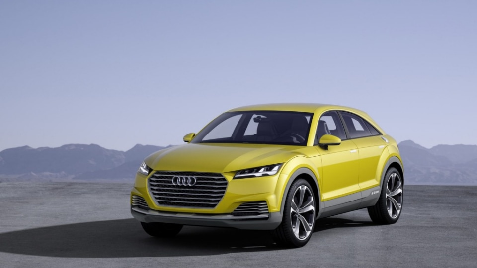 The Audi TT Off-road concept: The German brand is continuing to look for niche models to add to its line-up.