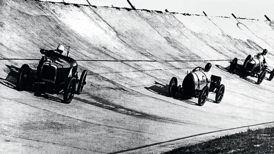 People having been racing cars since... almost as soon as the second car was invented.