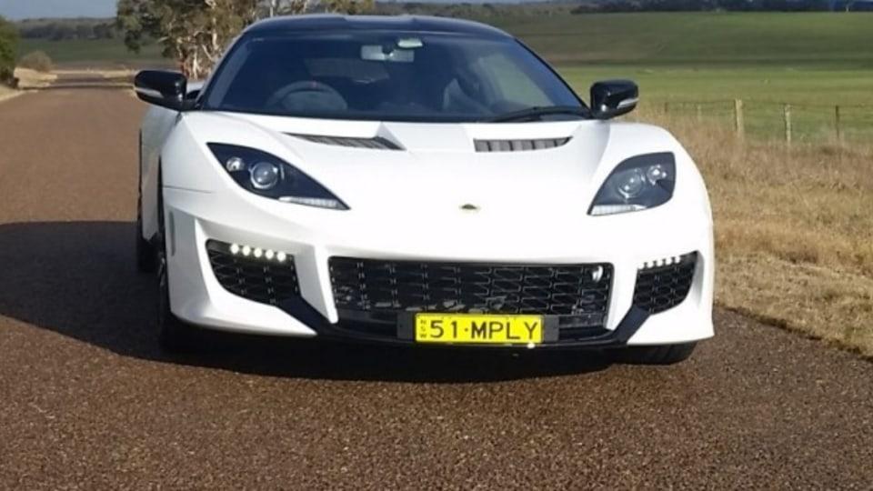 Lotus Evora 400.