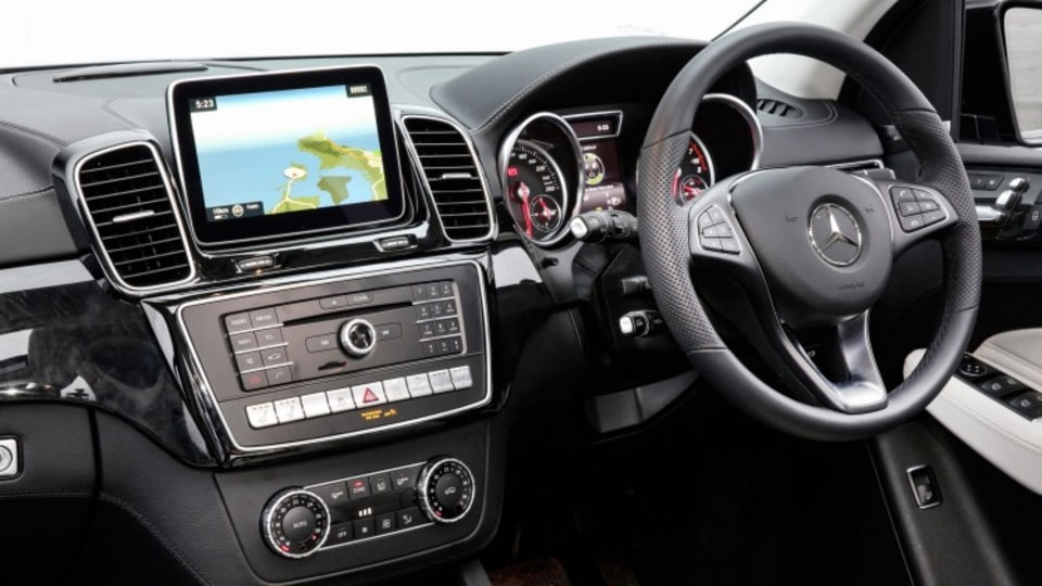 Inside the Mercedes-Benz GLE 500
