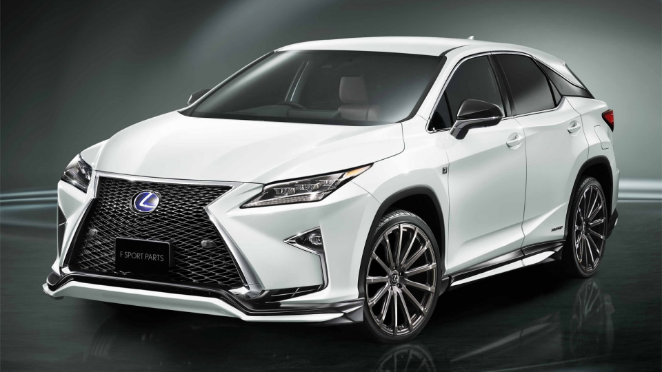 Lexus RX 'F Sport Parts' Upgrades Revealed Overseas