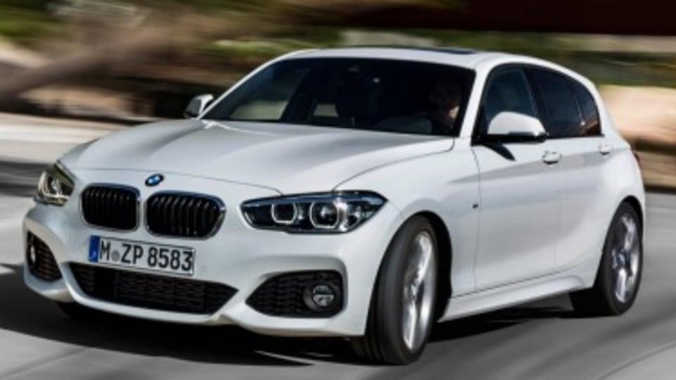 New-look BMW 1-Series revealed