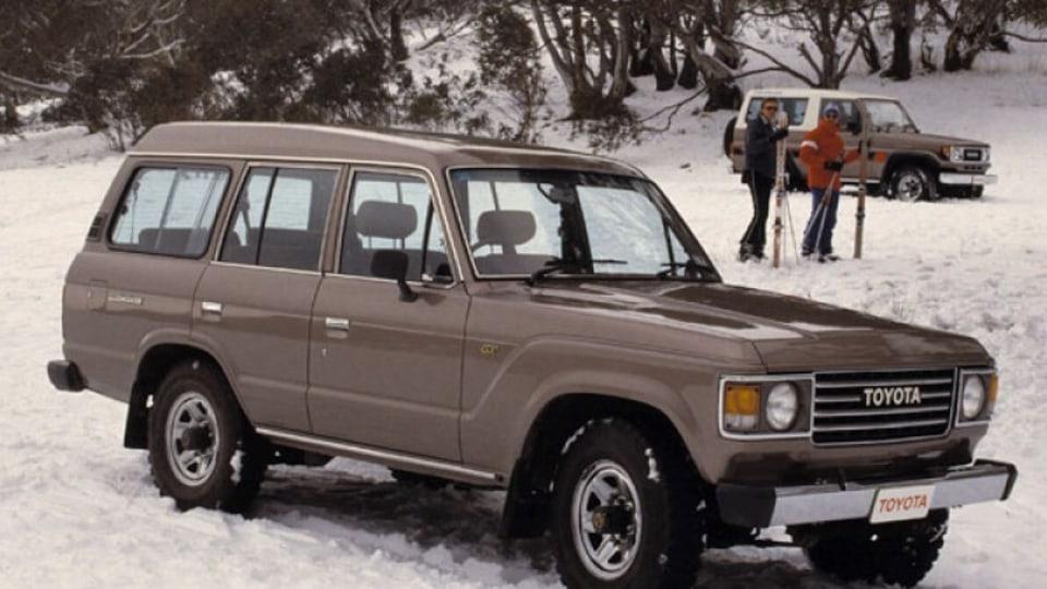 1981 Toyota LandCruiser HJ60.