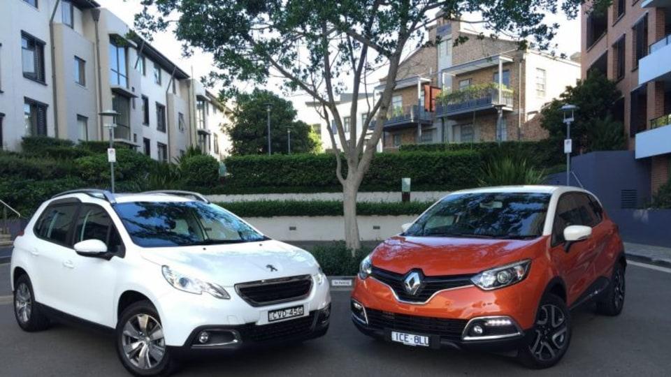 Peugeot 2008 v Renault Captur