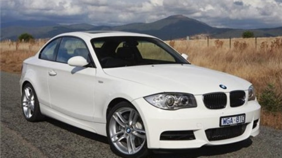 BMW 135i sports coupe