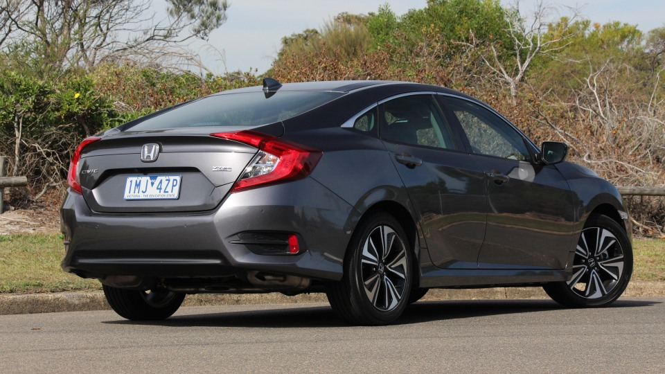 2018 Honda Civic VTi-LX.