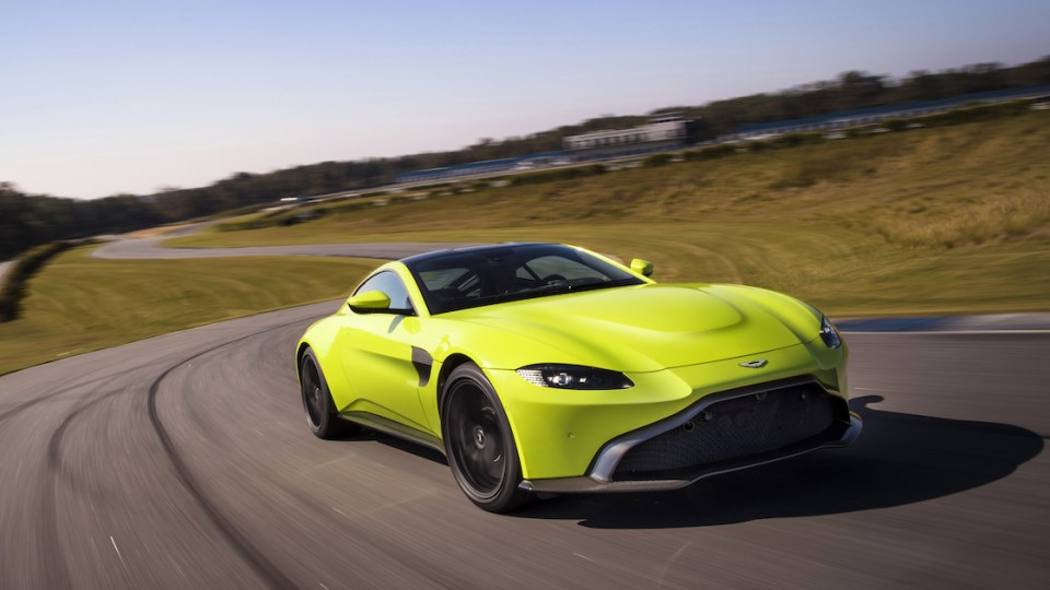 2018 Aston Martin Vantage revealed