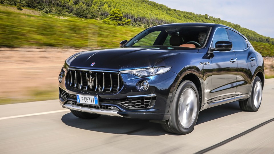Maserati introduces cheaper Levante