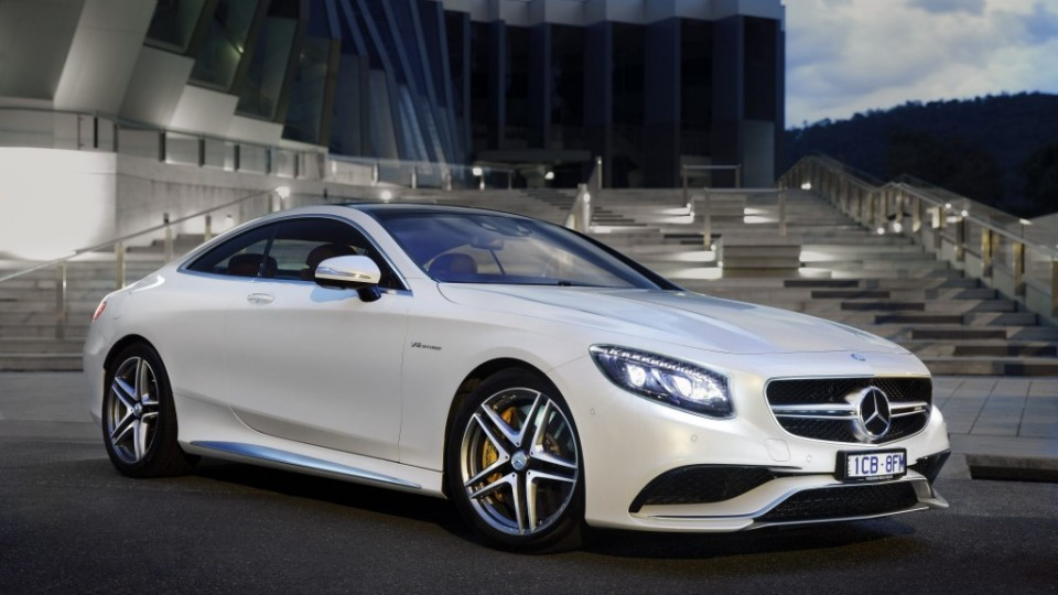 The Mercedes-Benz S63 Coupe AMG.