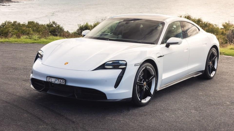 All-electric Porsche Taycan becomes Australia's best-selling luxury sedan