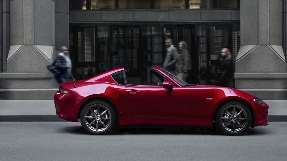 Upgraded Mazda MX-5 revealed