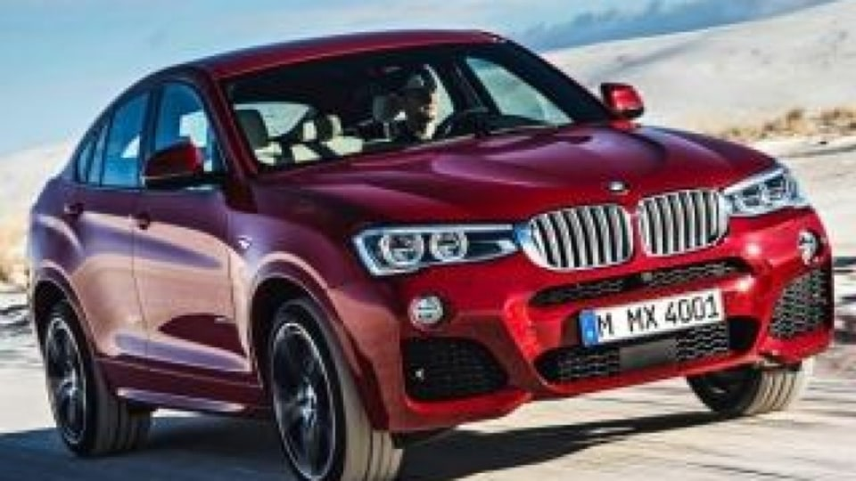 The new BMW X4, which goes on sale in Australia in July 2014.