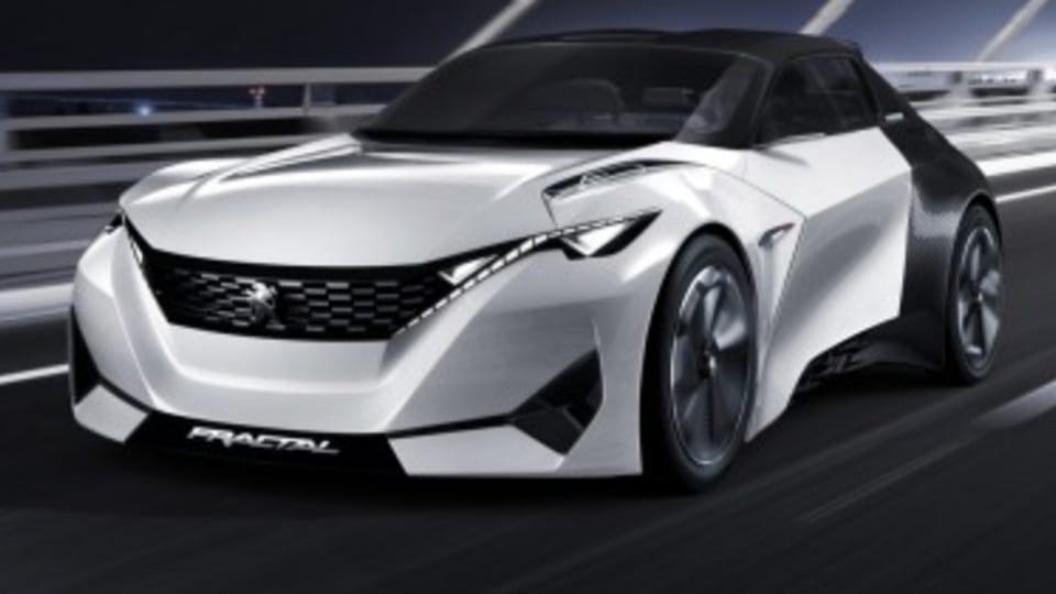 Peugeot Fractal Concept revealed