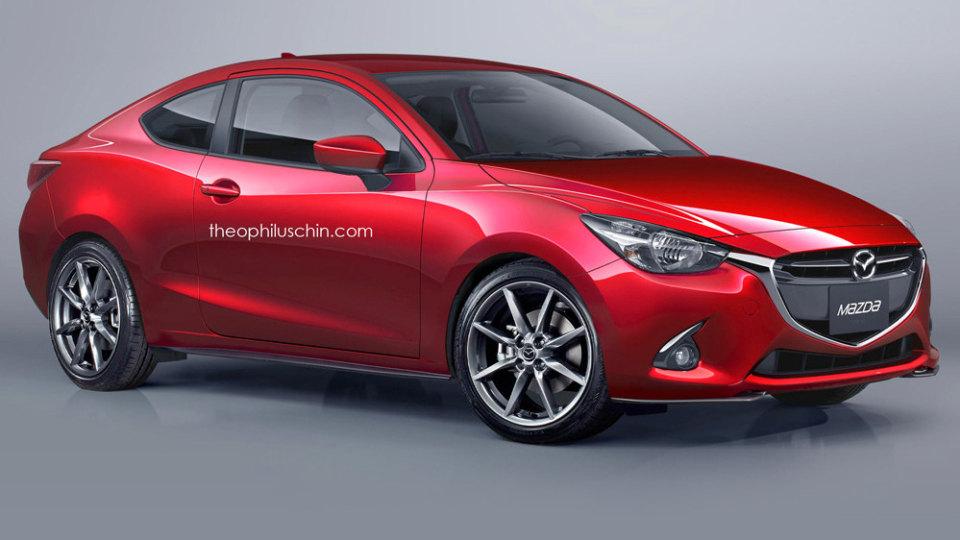 Rendered: Mazda2 Coupe... New MX-3?