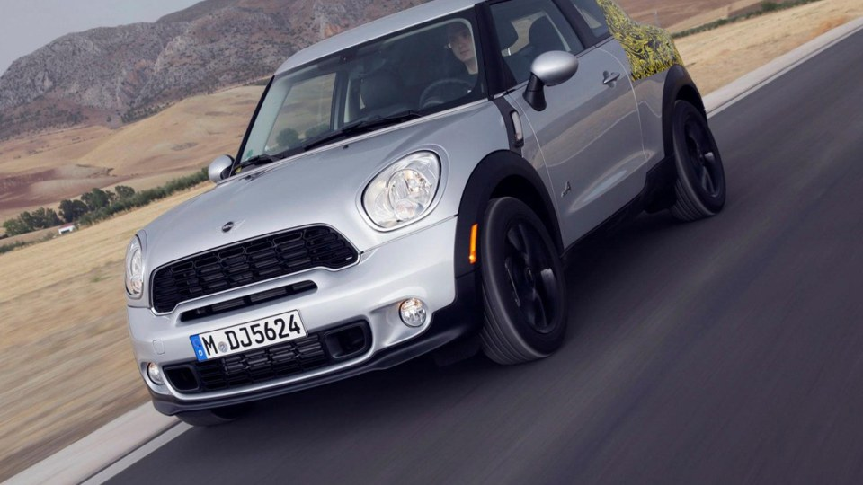 2013 MINI Paceman Revealed Further With Official New Photos