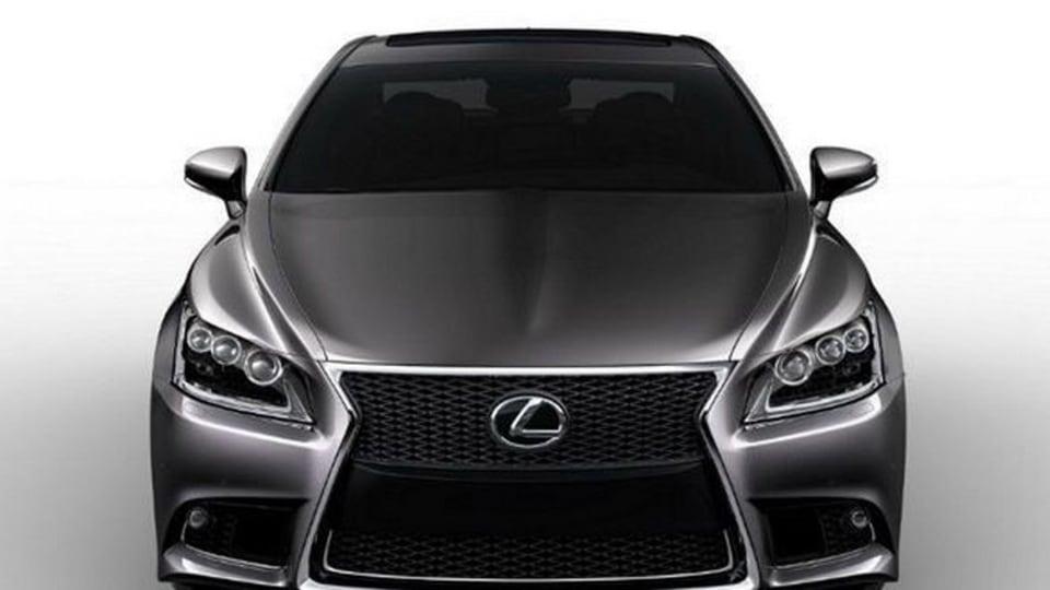 2013 Lexus LS - Overseas