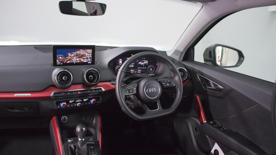 Audi Q2 interior.