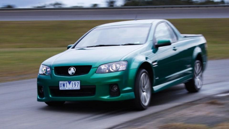 Holden ute - more dollars, more power.
