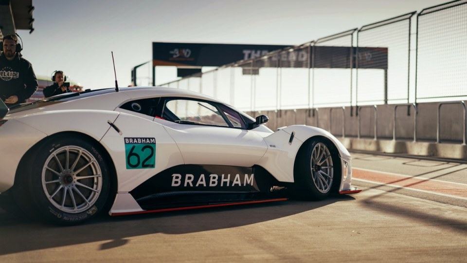 Brabham to test its new supercar at The Bend