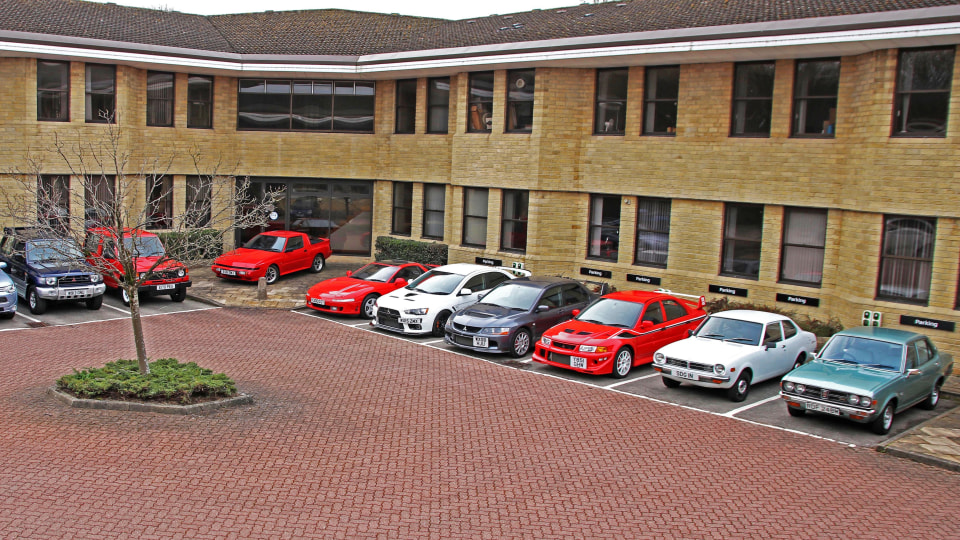 Mitsubishi Motors UK selling classic car collection
