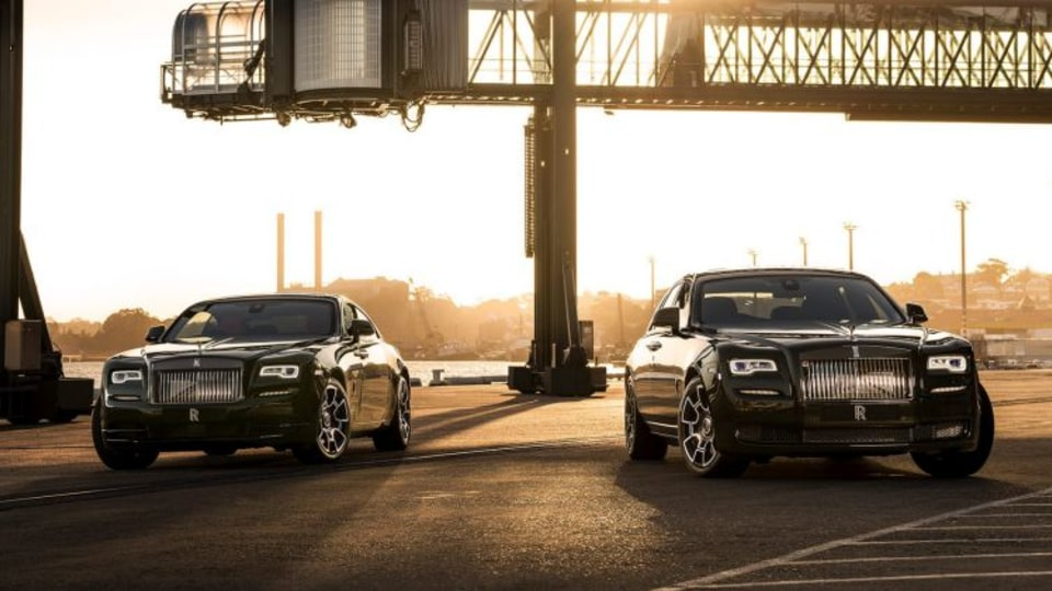 Rolls-Royce Wraith and Ghost Black Badge.