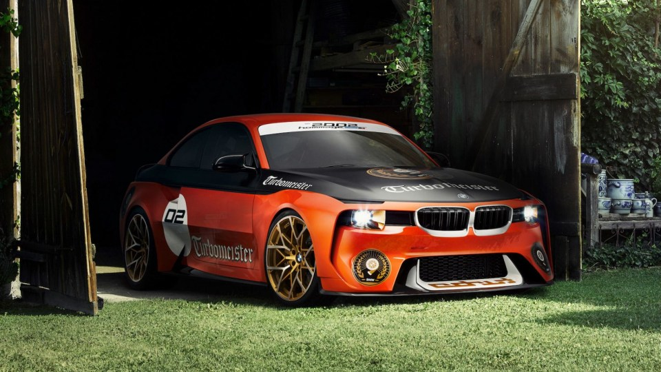BMW 2002 Hommage Returns For Pebble Beach