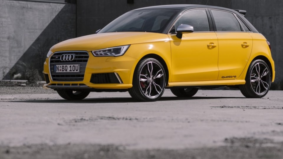 Plaything: The new Audi S1 offers compact thrills.