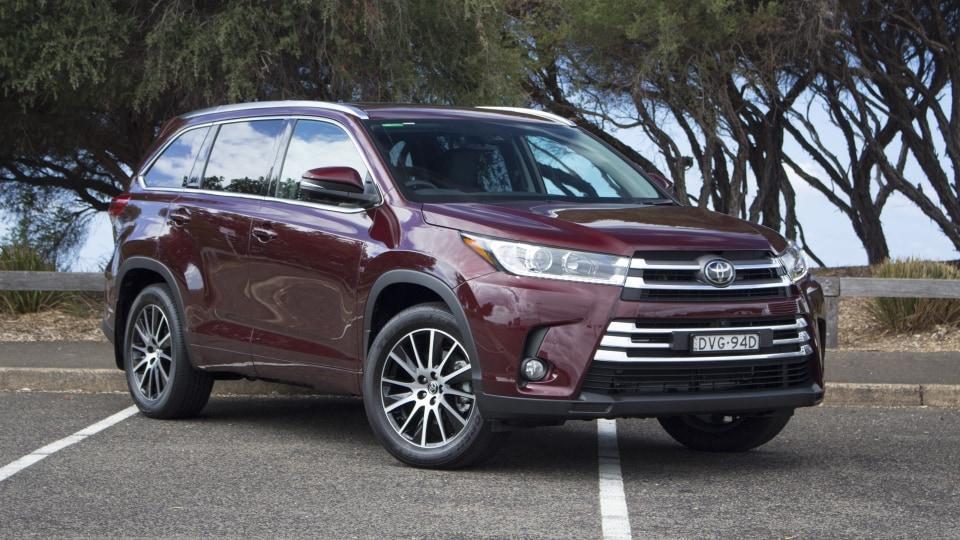2018 Toyota Kluger.