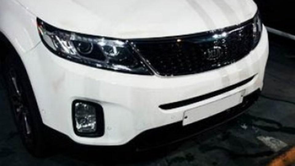 Kia's new SUV caught on camera