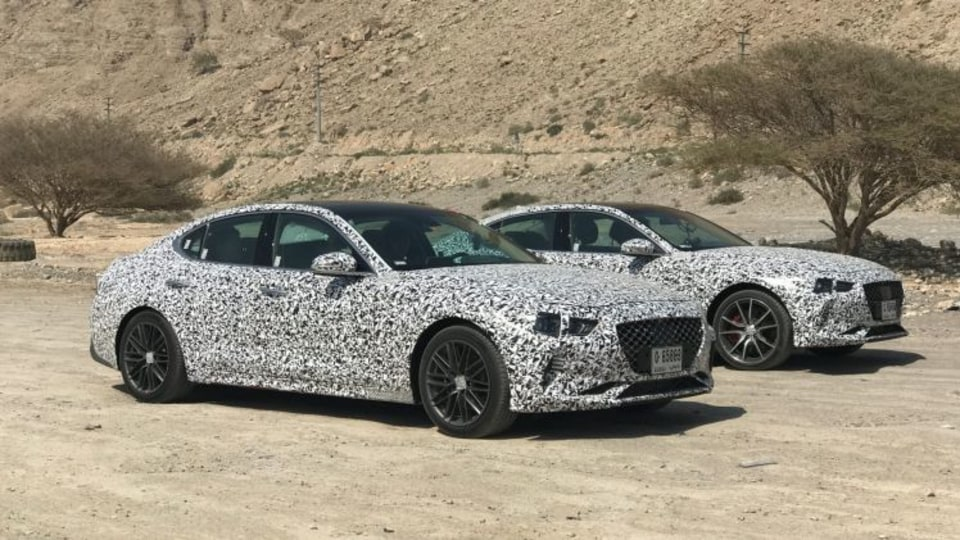 Stinger missile: Hyundai's Genesis G70 turbo caught in the wild