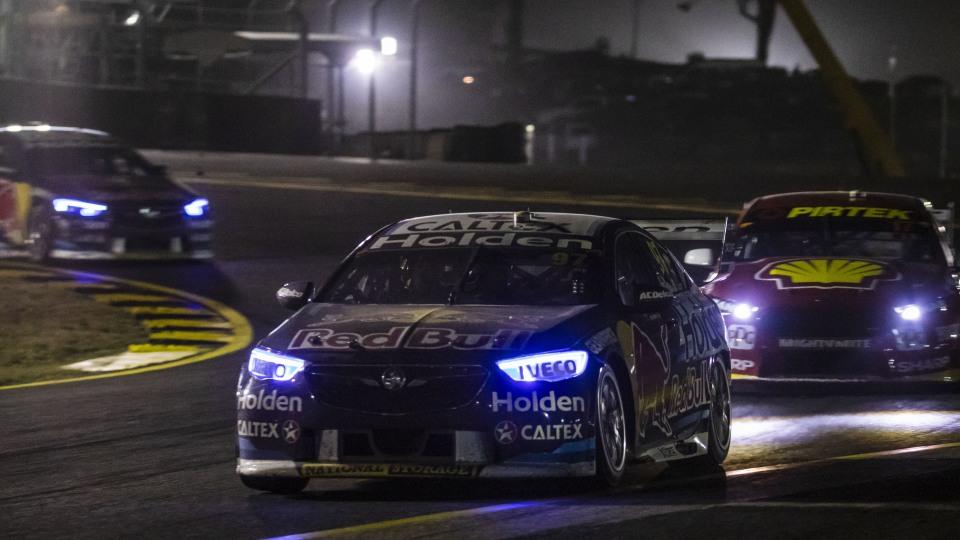 Motorsport: Van Gisbergen wins under lights in Sydney