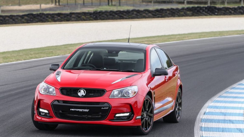 2017 Holden Commodore Motorsport Limited Edition.