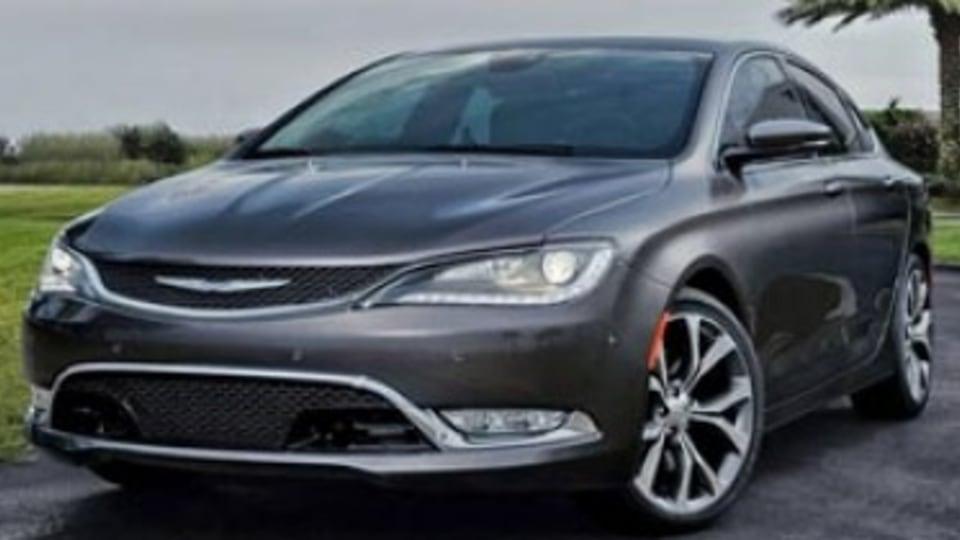 Chrysler 200 sedan leaked