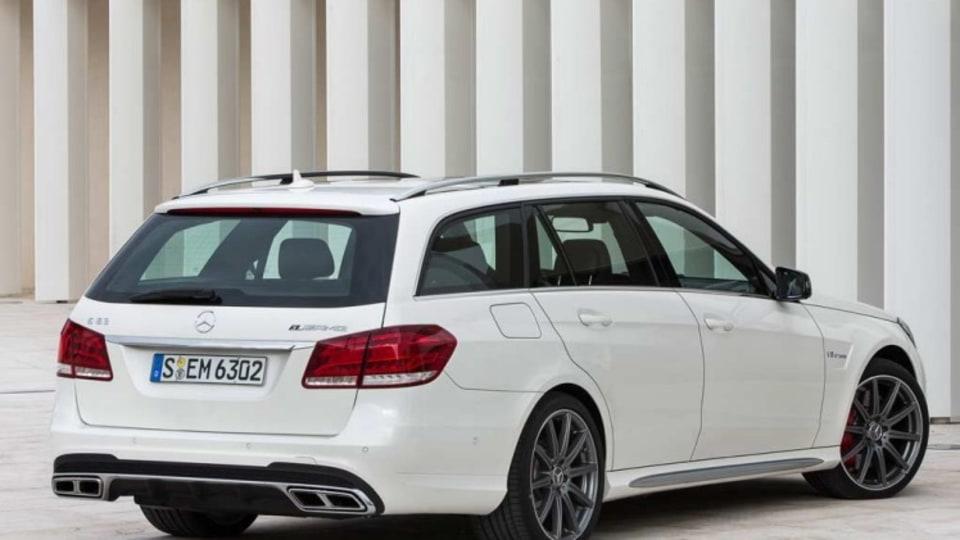 New Mercedes-Benz E63 AMG wagon.