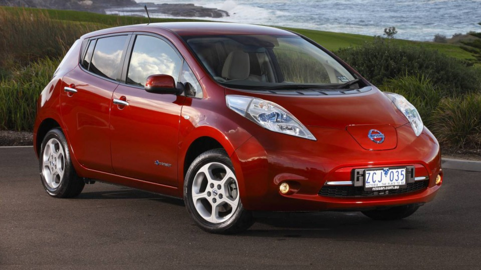 Nissan Leaf Electric Vehicle On Sale In Australia