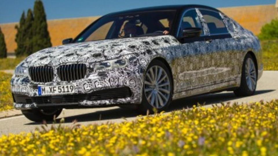 BMW 7-Series' new tech waiting for green light