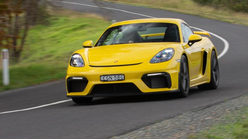 2021 Porsche 718 Cayman GT4 review
