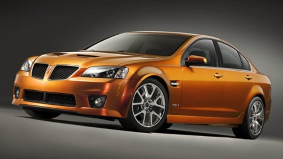 Thunder From Downunder: HSV Clubsport R8 To Form Basis For Pontiac GXP
