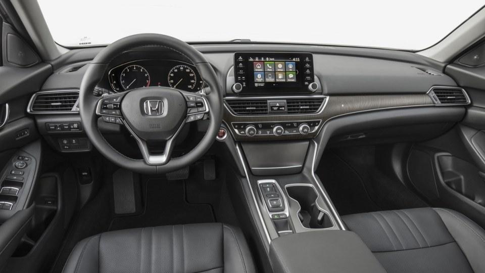 Inside the 2019 Honda Accord.