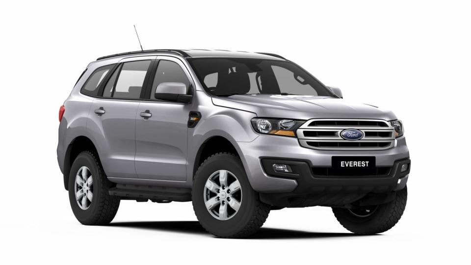 2017 Ford Everest Range Adds Cheaper Five-Seat Base Model