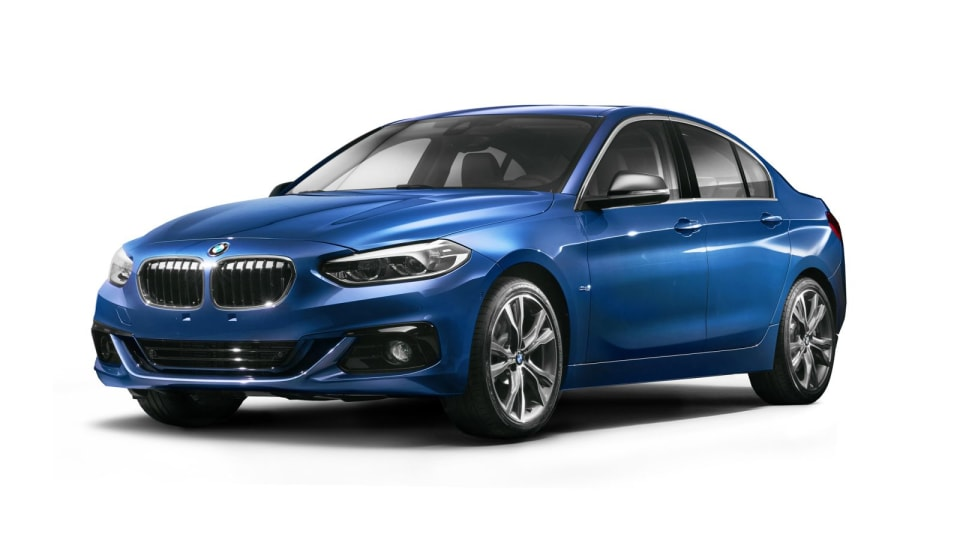 2017 BMW 1 Series Sedan Revealed As China-Only Model